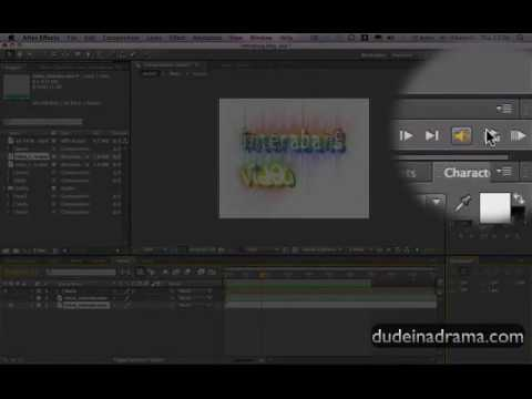 How to insert audio on to After Effects: Tutorial