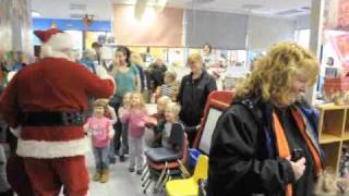 Santa  and Mrs Claus Visit Children