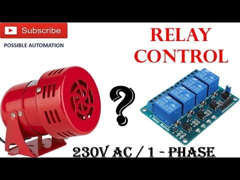 How to use 5V Relay with ARDUINO to Turn ON/OFF AC | Arduino 230V AC Supply Control | Relay Control