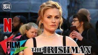 Anna Paquin on the bucket list moment of working on The Irishman - LFF Premiere