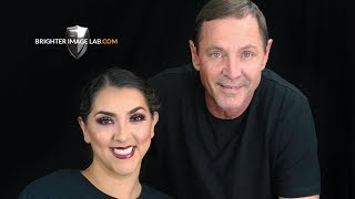 Smile Transformation! She Does Her OWN Extreme Makeover with Brighter Image Lab