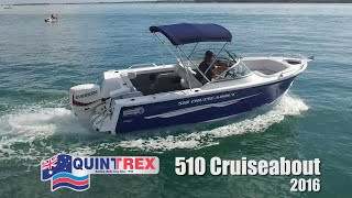 Boat Reviews on the Broadwater - 2016 Quintrex 510 Cruiseabout Bowrider