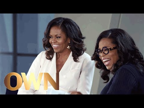 Michelle Obama Shares a Revealing (and Funny) Anecdote About Barack Obama | Oprah's Book Club | OWN