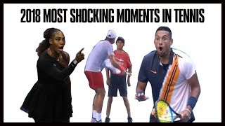 Tennis' Most Shocking Controversial Moments in 2018