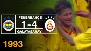 Nostalji Maçlar | 1992-1993 Sezonu Fenerbahçe 1 - 4 Galatasaray