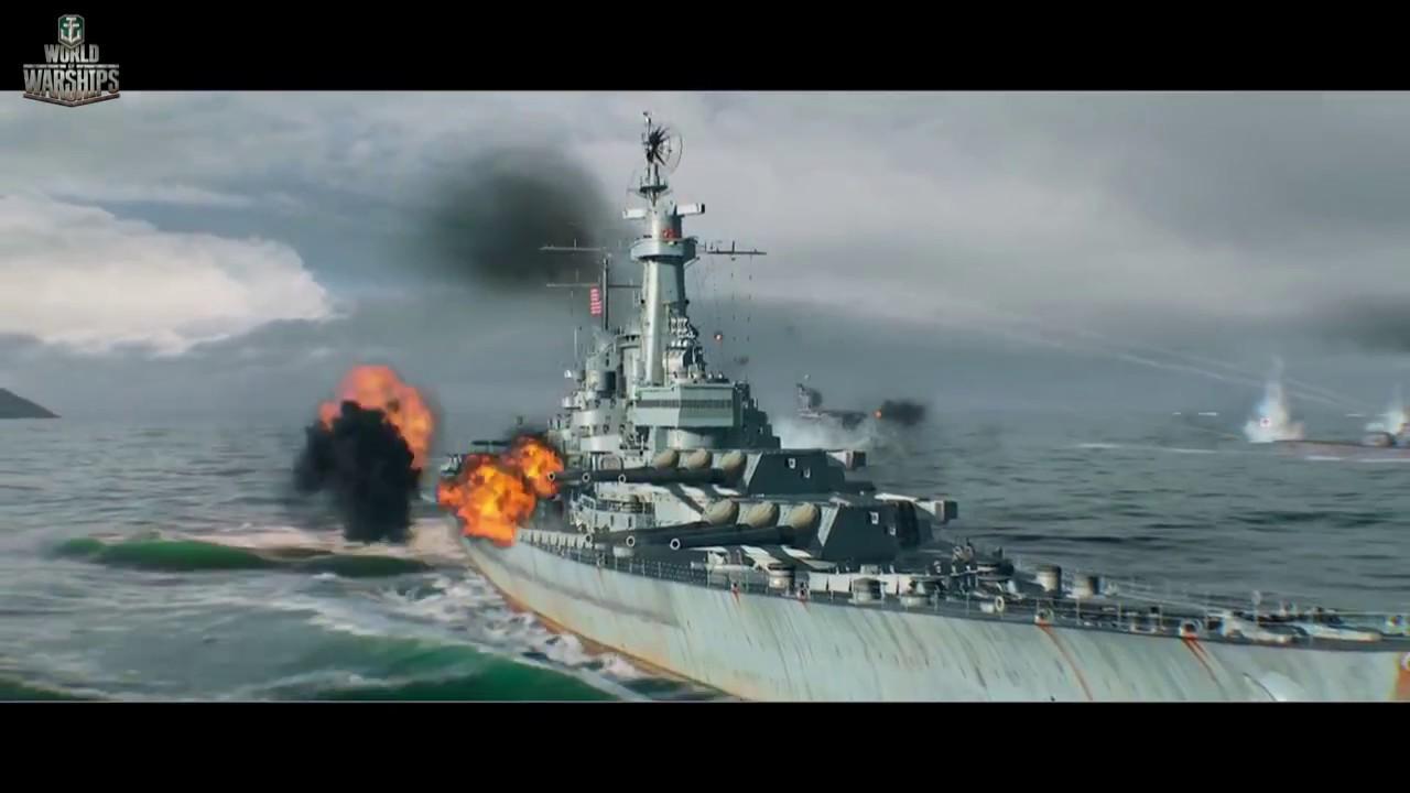 world of warships gmv wild thing  cv action