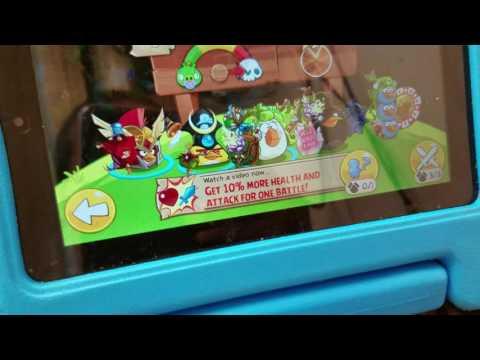 Angry Birds Epic Glitch