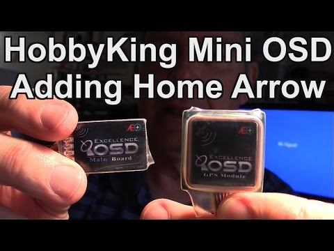 HobbyKing Mini OSD, G-OSD, Adding GPS Home Arrow Firmware