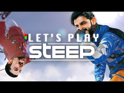 'IT'S TRICKY!' - Steep Let's Play