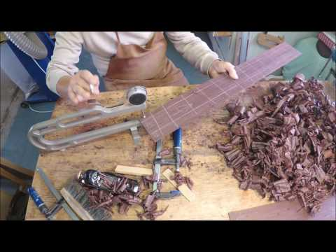 Bending Guitar sides by hand