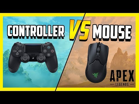 Controller Vs Mouse In Apex Legends - Which Is Better?