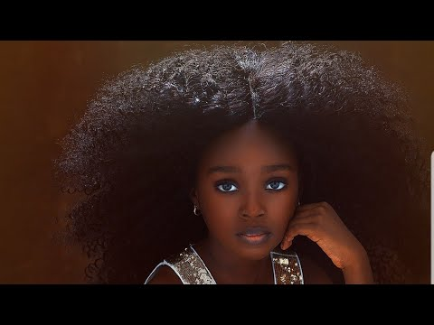 5yr old Little Nigerian Girl is being called The Most Beautiful Girl in World🤩Black Excellence💖💞