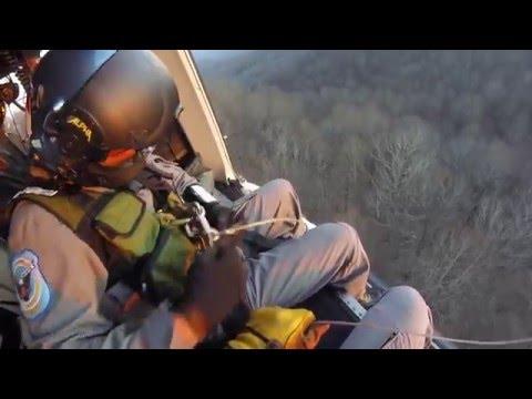 GSP Aviation Hoist Rescue - April 5, 2016