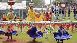 72 वे स्वतंत्रता दिवस पर शानदार कार्यक्रम SMS स्टेडियम जयपुर राजस्थान #वसुंधरा राजे