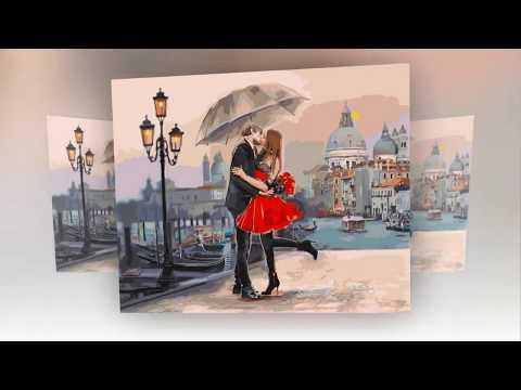 """""""Любовь -  волшебная планета!"""" Авторы песни - Виктор Бекк и Нина Хачатурян"""