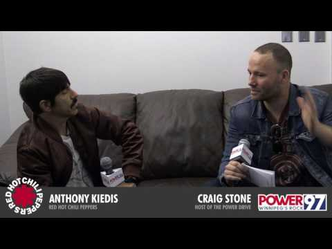 Exclusive interview with Anthony Kiedis of the Red Hot Chili Peppers