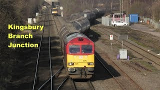 """""""The busy Kingsbury Branch Junction""""   20/01/20"""