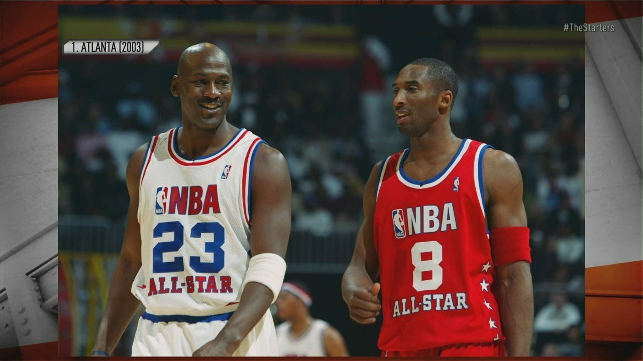 a4bcf667e571 Top 10 All-Star Jerseys of All-Time - The Starters - YouTube