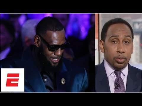 Stephen A: LeBron James will do better in new Space Jam than Michael Jordan did  ESPN Voices