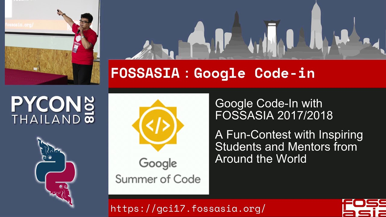 Image from FOSSASIA introduction