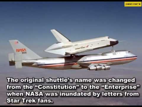 Six Interesting Facts About The Space Shuttle - YouTube