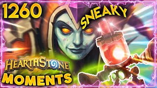 EVERYTHING RUINED BY A SNEAKY ALARM-O-BOT!!   Hearthstone Daily Moments Ep.1260