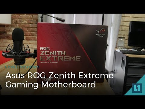 Asus ROG Zenith Extreme Threadripper Gaming Motherboard