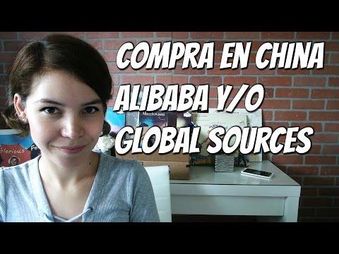 Paginas Para Comprar Productos en China Alibaba y/o Global sources