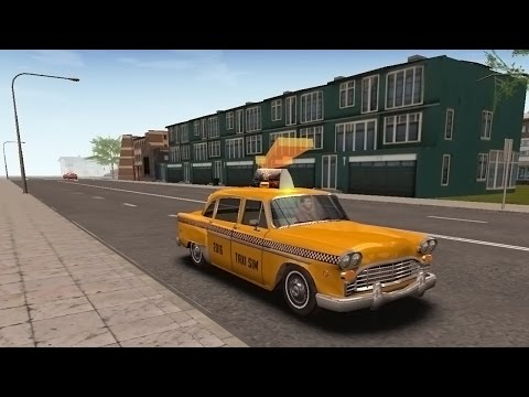 Taxi Sim 2016 | Retro Сar - Frankfurt Part 4 (Android Mobile)