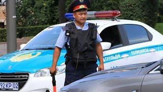 Повезли на проверку на наркотики | Первая остановка ГАИшниками Казахстана