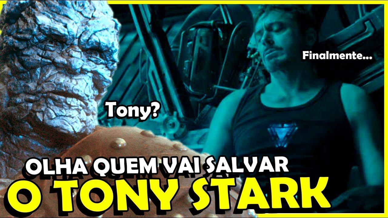 QUEM VAI RESGATAR O TONY STARK? VINGADORES 4 ULTIMATO