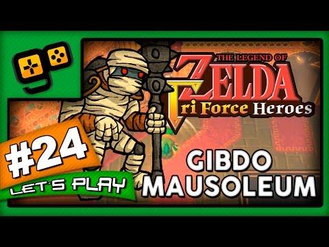 Let's Play: Zelda TriForce Heroes - Parte 24 - Gibdo Mausoleum