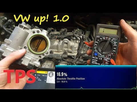 2013 Volkswagen up ! Throttle Body Removal - Test - Cleaning 1.0 Gasoline Engine