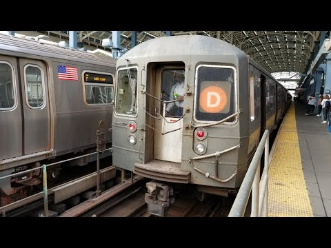 IND Culver: Special! Riding R68 D Train via F line from Coney Island to Jay St-MetroTech (10/14/17)