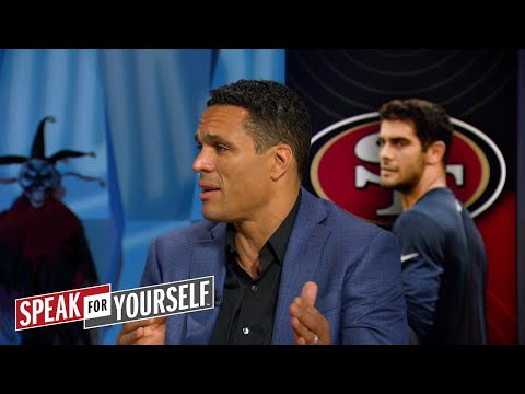 Tony Gonzalez explains why the 49ers acquiring Garoppolo was a
