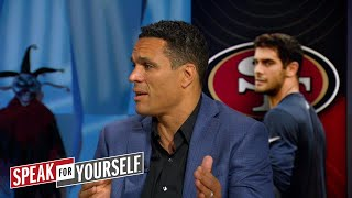 Tony Gonzalez explains why the 49ers acquiring Garoppolo was a 'great trade' | SPEAK FOR YOURSELF