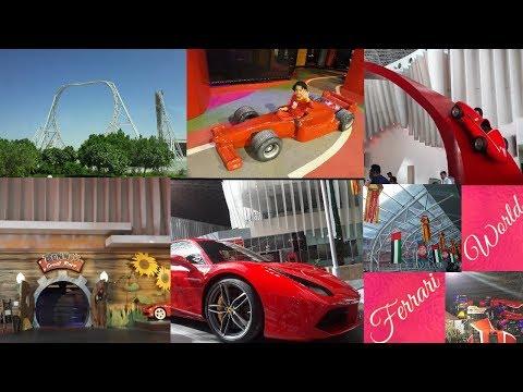DUBAI | PART-4 | Day-5 | Abu Dhabi | Ferrari World | World Largest Roller COASTER