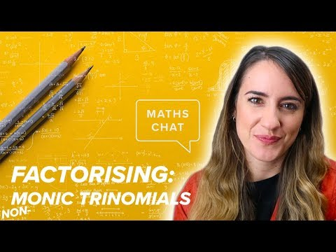 Quadratics:  Lesson 6 -  Factorising Non Monic Trinomials | Maths Chat | Online Tutor