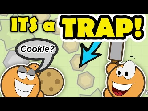 IT'S A TRAP!!! Hilarious Trolling in Moomoo.io AND Destroying villages 1 v 5 !!!