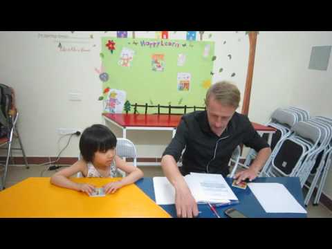 [Happy Learn Speaking Test by Cambridge examiner] Candidate VU AN NHIEN- 4 years old