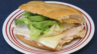 Marinated Turkey Breast Cutlets Cooked In The Toaster Oven~healthy Turkey Sandwich
