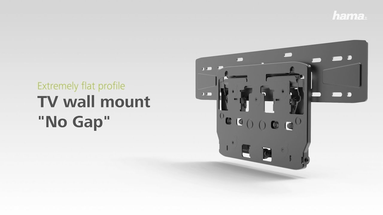 Wandhalterung Für Samsung Hama Tv Wall Bracket Tilt No Gap For Samsung Tv S For Virtually Flush Mount