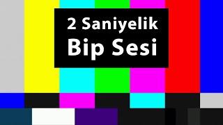 Bip Sesi 2 Saniye, Sansür Sesi, Bozuk Ekran Sesi, Tv Efekti