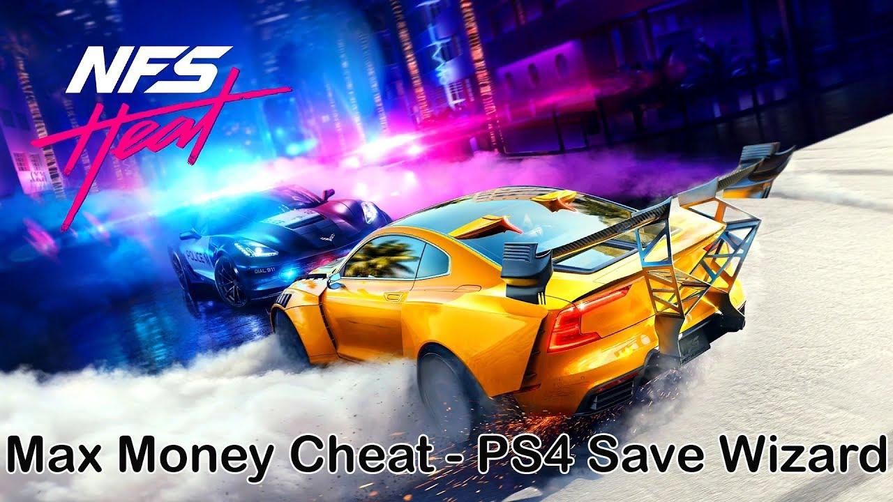 Nfs Heat Max Money Cheat 1 Billion Credit Ps4 Save Wizard