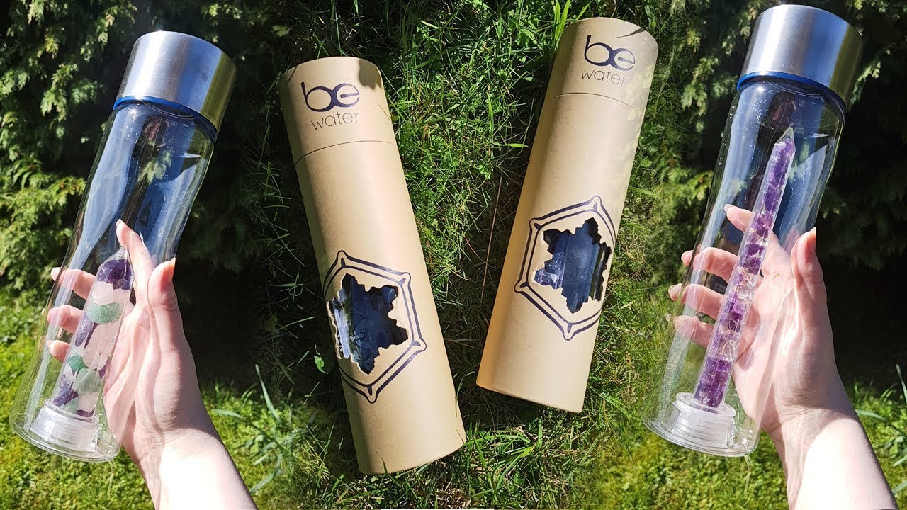 d1d30fe7d6 Be Water: Crystal Infused Bottles - YouTube