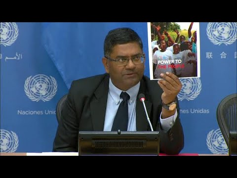 The Launch Of The World AIDS Day Report - Press Conference (26 November 2019)