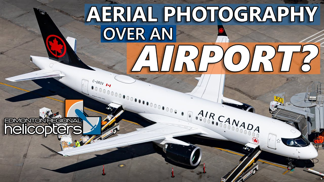 How Aerial Photography Over An Airport Works
