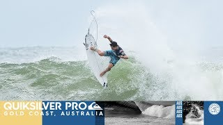 Florence vs. Colapinto vs. Wright - Round One, Heat 6 - Quiksilver Pro Gold Coast 2018