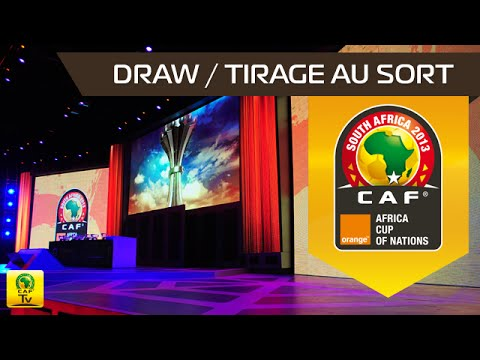 DRAW Ceremony : Orange Africa Cup of Nations, SOUTH AFRICA 2013
