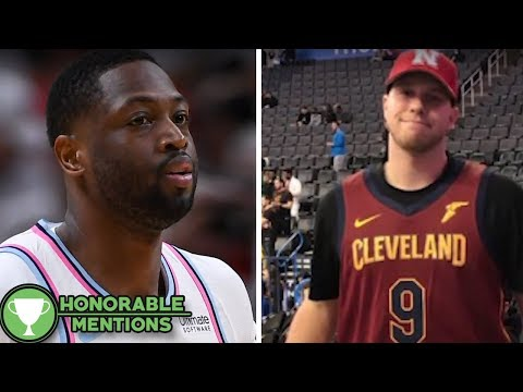 Dwyane Wade Fan Gets BURNED by Cavs Trade -HM